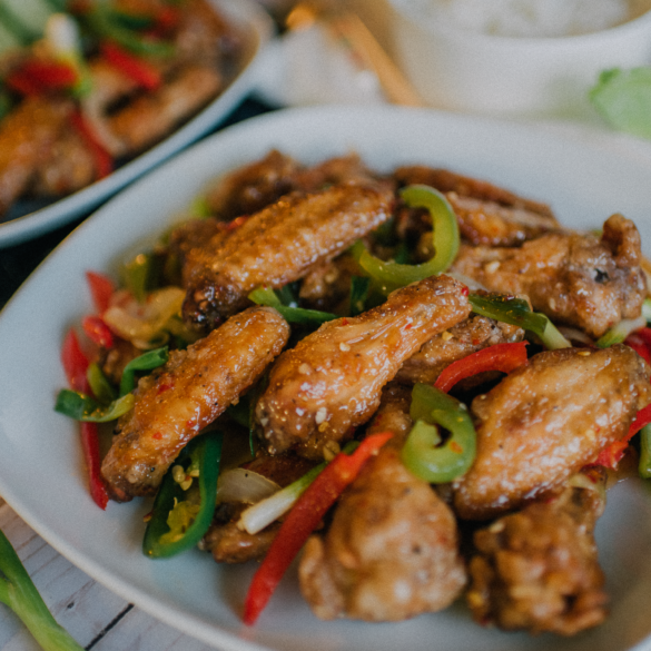 how to make vietnamese fish sauce chicken wings