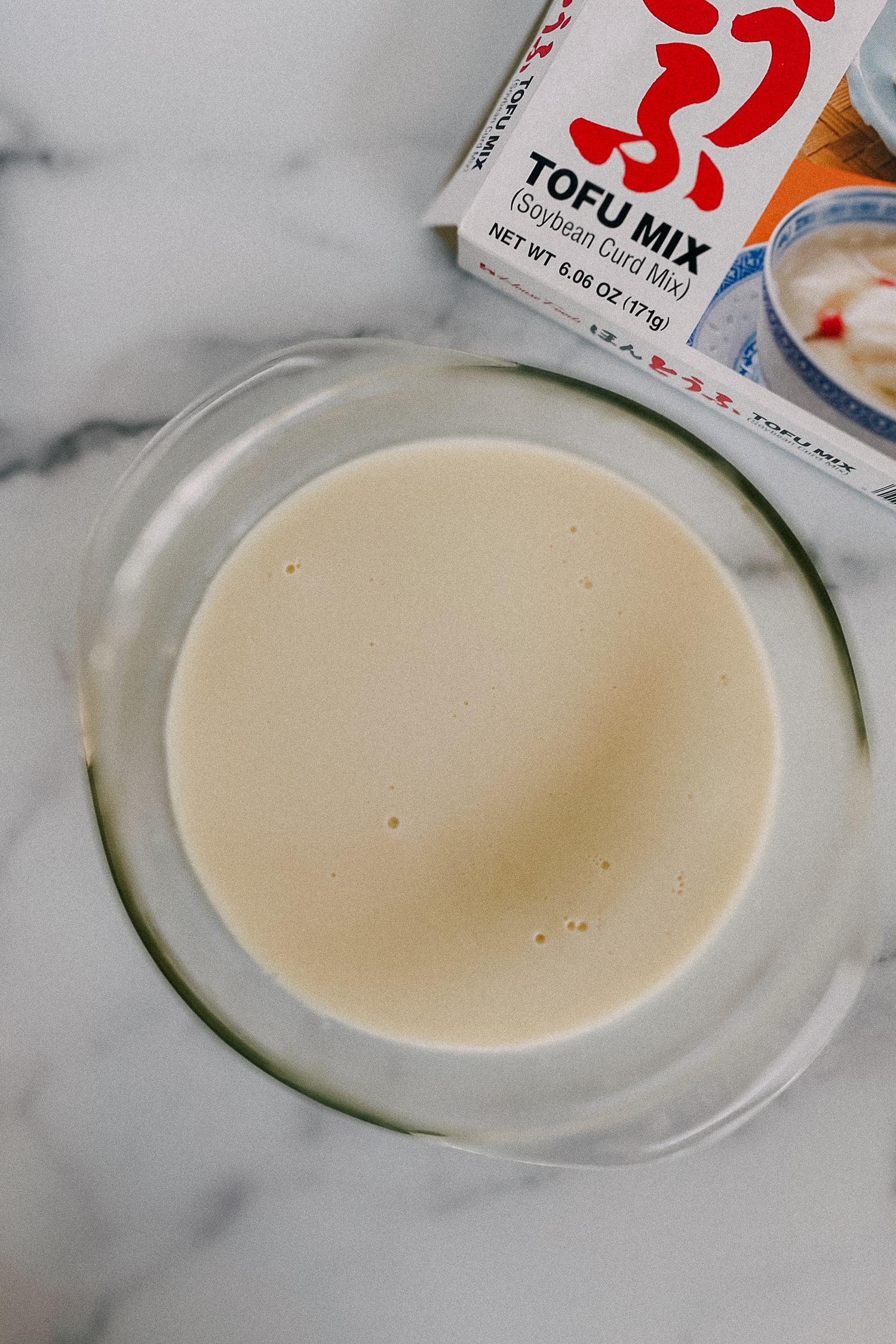 how to make easy soybean pudding